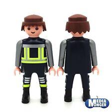 playmobil® Grundfigur: Feuerwehrmann | Firefighter | Feuerwehr | Retter braun