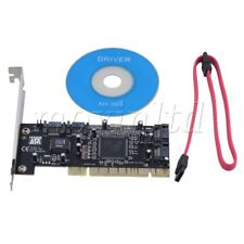 SUPPORT 3TBx4 HDD 2 SATA Cables-PCI TO 4 Port SATA Sil3114 CONTROLLER RAID CARD