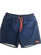 Quiksliver Mens Swim Swimming Shorts Size Large VGC