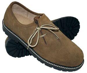 Trachtenschuhe Haferlschuhe Schuhe braun Tracht Haferl-Schuhe Trachten-Schuhe