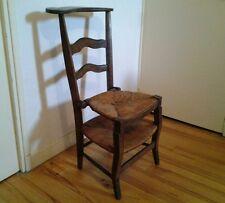 Chaise XIXème siècle / assise basculante  /