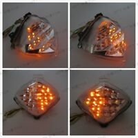 LED Tail Brake Light Turn Signals For Yamaha YZF R1 YZFR1 YZF-R1 2004-2006 Clear