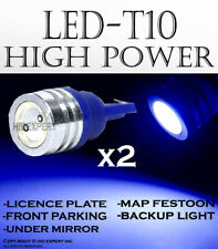 2 pairs T10 LED High Power Blue Direct Replacements For Step Light Bulbs X371