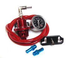Lexus GS300 2JZ-GTE Red Adjustable Fuel Pressure Regulator & Fuel Rail Adapter