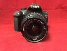 Canon EOS Rebel T5 Digital Camera w/ EF-S 18-55mm IS II Lens, Black