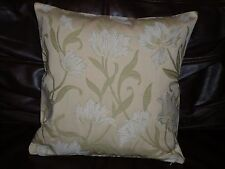 """16"""" CUSHION COVER MADE WITH JOHN LEWIS WHITE 'COLETTE' FABRIC-"""