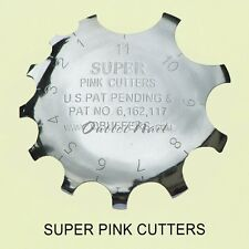 Q-FRENCH SUPER PINK CUTTERS C - Pink & White Acrylic Gel Nails Cut Tool 1-11