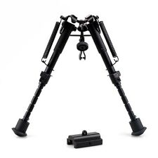 5 level Adjustable Bipod Sling Swivel Adapter Weaver Picatinny Rail Mount Rifle