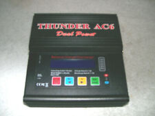 New Thunder AC6 Smart LiPo Balance Charger/Discharger w/ built in AC Adapter -