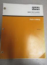 Case 1825 Uni-Loader Parts Catalog Manual BUR 8-7250 1990