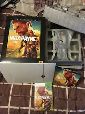 Max Payne 3 Collectors Edition NEW PAL Xbox 360