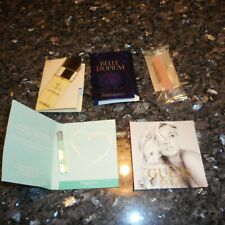 Group of (4) High End Perfume Samples - EDT Chanel Cristalle, Guess Gold, etc
