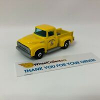 '56 Ford Pickup Mooneyes * YELLOW * Matchbox LOOSE * WK9
