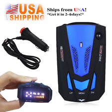 360 Degree Car 16 Band V7 GPS Speed Police Safe Radar Detector Voice Alert Laser