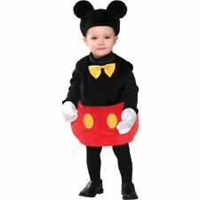 Disney Baby Mickey Mouse Infant Costume Fancy Dress Halloween Bodysuit 0-6 Month