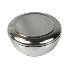 NEW Korean Stainless Steel Rice Soup Bowl with Lid Sanitary Dinnerware