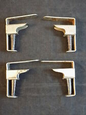 """SPRING LOADED TABLE CLOTH CLAMPS 4 HEAVY DUTY METAL SPIRAL 1 1/4"""" Opening"""