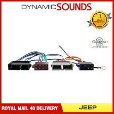 CT20JP01 Car Radio Stereo ISO Loom Wiring Harness Adaptor Lead for Jeep