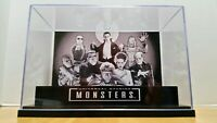 Universal Studios Remco Super7 MONSTERS display Stand diorama-CASE ONLY