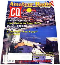 CQ AMATEUR RADIO May 2004 HAM MAGAZINE Cape Verde HF SIGNAL PROPAGATION Antennas
