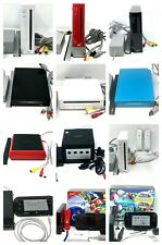Nintendo Wii Console OR GameCube OR Wii U Console with Gamepad 32GB Deluxe