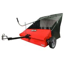 Tow-Behind Lawn Sweeper,44-Inch 6 MPH 25 cu ft Garden/Yard Tractors Lawn Sweeper