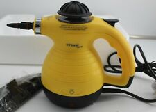 Handheld steamer cleaner complete boxed yellow black NS106