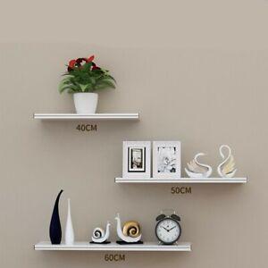 3pcs Floating Wall Shelf Set DIY Mount Storage Book Display Rack 30cm 40cm 50cm