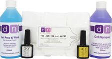Discount Nails Prep Remover Wipes CCO Top & Base UV LED Gel Polish Nail Kit