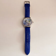 Ed Hardy Genuine Leather Butterfly Blue Watch