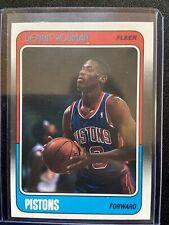 1988 Fleer Dennis Rodman #43 Basketball Card