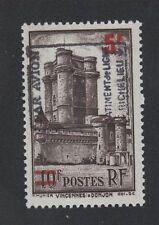 Poste aérienne militaire bâtiment Richelieu N°8 Vincennes gomme sans charnière