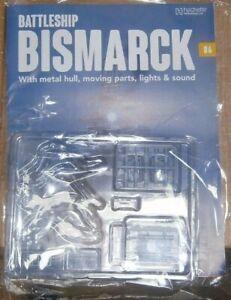 Hachette Build the Battleship Bismarck Scale 1:200 Part 86