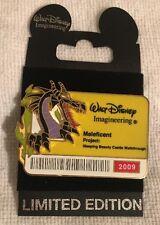 WDI ID Badge Series 2009 Maleficent as Dragon 3D LE 300 Disney Pin