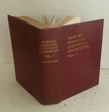Vintage Book Complete Electrical Engineering Vol I Installations newnes