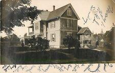A View Of A Home In Newburyport, Massachusetts MA RPPC 1907