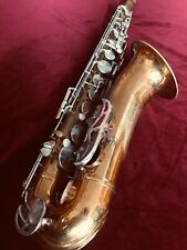 HN White KING ZEPHYR Tenor Saxophone (1960s)