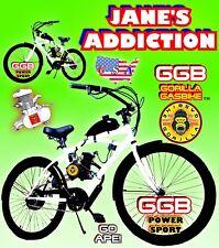 "66cc/80cc 2-Stroke Motorized Bike Kit And 26"" Bicycle Diy Motor Bike Powerful"