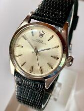 Rolex Oyster Perpetual Vintage 1965 Original 6548 1130 Service Repair Runs NR 99