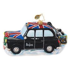 "Radko Beatles Intrument Cab 3 1/2""x5"" Beatles Ornament 1019089 NWT"