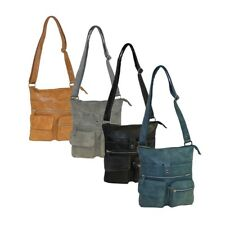 Bag Street Umhängetasche / Crossbag Damentasche Handtasche Kunstleder
