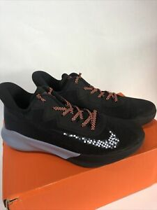 Mens Nike Precision IV Basketball Shoes Sneakers Size 7.5 Black CK1069 006