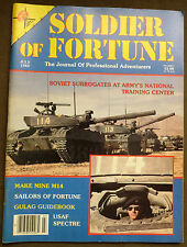 Soldier of Fortune Magazine- July 1982, Rare, Antique Back Issue