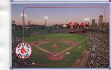 STADIUM POSTCARD~FENWAY PARK HOME OF THE BOSTON RED SOX-BOSTON,MA