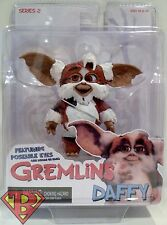 "DAFFY Gremlins Movie 3"" inch Mogwais Figure Poseable Eyes Series 2 Neca 2012"