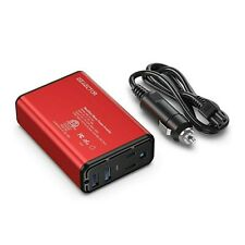 ISELECTOR 150W Car Power Inverter, DC 12V to 110V AC Converter with 2 USB Ports