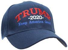 Tropic Hats Trump 2020 Keep America Great Campaign Cap #940 Navy W/RWB Thread