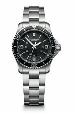 Victorinox Maverick Small (241701) Women's Stainless Steel Wristwatch with Black Dial