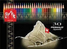 CARAN D'ACHE PRISMALO COLOUR PENCILS - Box of 30 assorted watercolour pencils