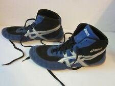 Asics Wrestling Shoes Blue Silver Mens Size 13 J902Y